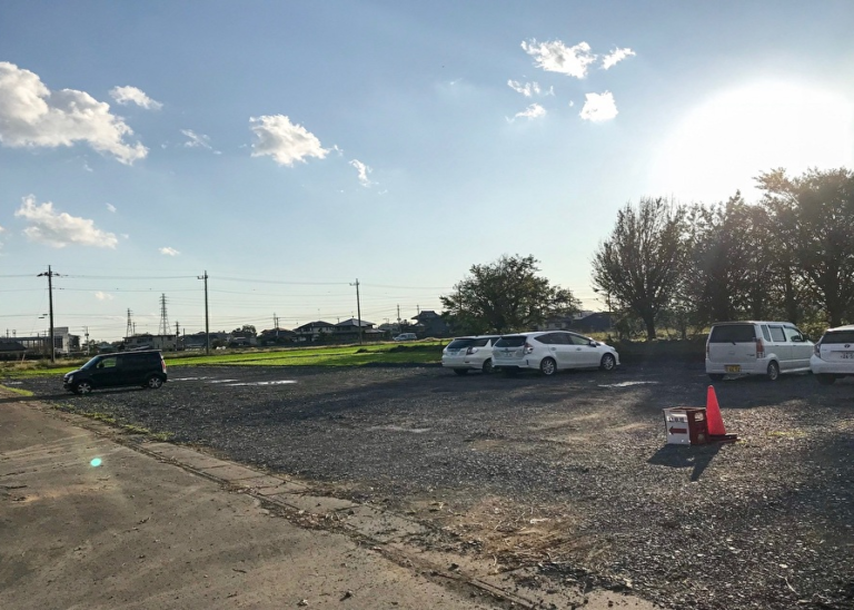 駐車場増設!